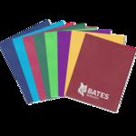 Folder, Two-pocket, assorted imprint