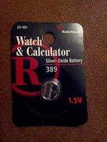 Battery, #390/389, 1.55V, for watch/calculator