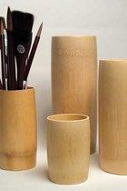 Bamboo Brush Vase Med