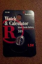 Battery, #390/389, 1.55V, for watch/calculator
